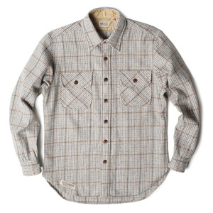 "Wood Shirt ""Wool Plaid Check"""
