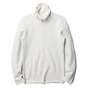 "OOPARTS Roll-Neck Cotton Jersey Sweatshirt ""Oatmeal"""
