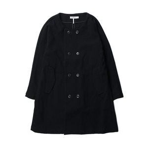 "ORDINARY FITS OM-T045 Grandma Coat ""Black"""