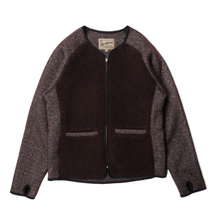 "Grizzly/Teddy Cardigan ""Brown"""