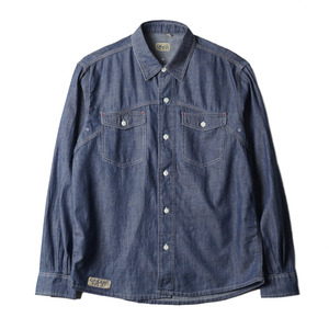 "Robert Chambray Shirt ""Indigo"""