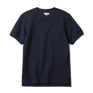 "BANTS CC Round T-Shirt Half ""Navy"""