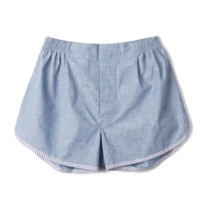 "NP-12 Chambray Trunks ""Blue"""