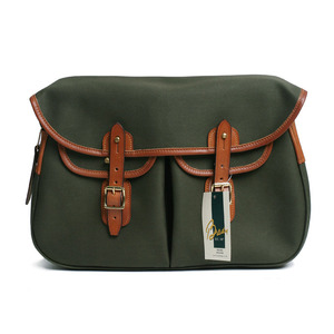 "BRADY BAGS Large ARIEL TROUT Fishing Bag ""Olive"""