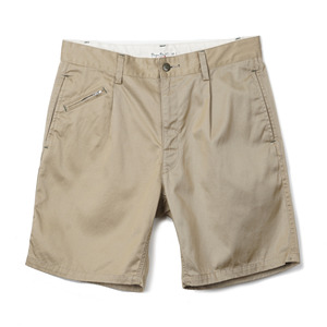 "BP16303 Drawcord Military Shorts ""Khaki"""