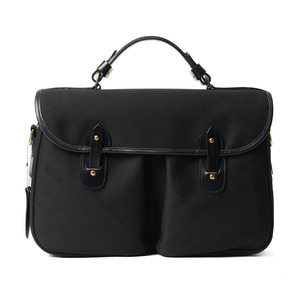 "BRADY BAGS MONMOUTH Traditional English Office Bag ""Black"""