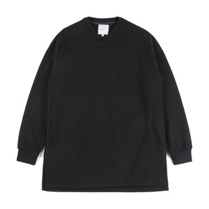 "OOPARTS Raglan cotton-jersey sweatshirt ""Black"""