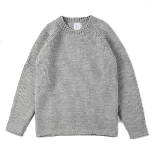 "OOPARTS Round-neck sweater ""Grey"""