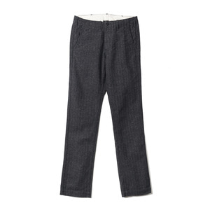 "Button fly Modern Jazz Nep HBT Trousers 401-81 ""Black"""