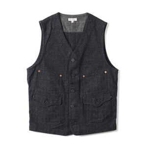"BP16903 Jazz Nep HBT Work Vest ""Black"""