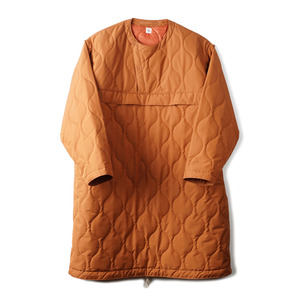 "KAPTAIN SUNSHINE Primaloft Padding Long Anorak ""Walnut"""