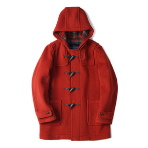 "Mens Exclusive Duffle Coat LT01 ""Orange B 35"""