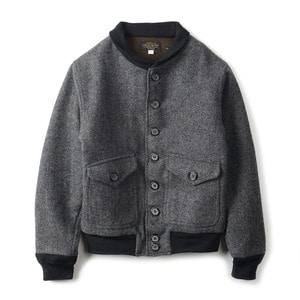 "YMCL KY US Type A-1 Style Wool Jacket ""Grey"""
