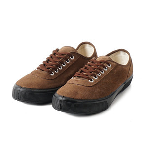 Lace Low cut Brown Suade/Black