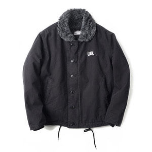 "YMCL KY USN N-1 Deck Jacket Wash ""Black"""