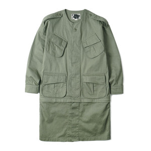 "OOPARTS OPT18SSJK01OL Combat Tropical Jacket ""Olive"""