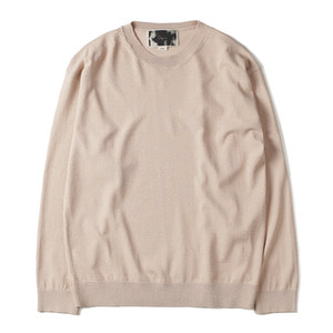 "OOPARTS OPT18SSTP05IV R/N Blend Crewneck Sweater ""Ivory"""