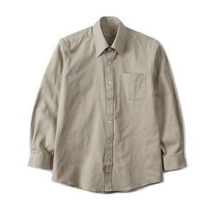 "BANTS GTB Crinkle Oxford Cotton B.D Shirt ""Lt Olive"""
