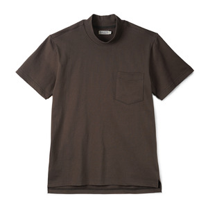 "BANTS GTB Cotton Mock Neck T-shirt Half ""Olive Drab"""