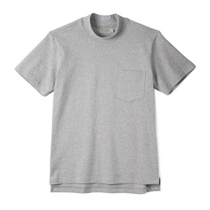 "BANTS GTB Cotton Mock Neck T-shirt Half ""Grey"""