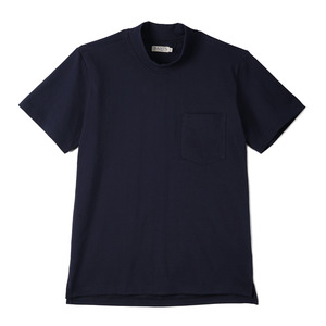 "BANTS GTB Cotton Mock Neck T-shirt Half ""Navy"""