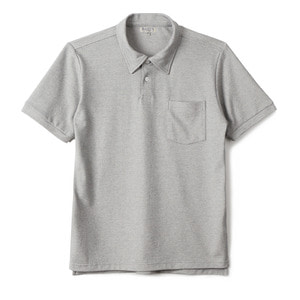 "BANTS GTB Cotton Pique Polo Shirt Half ""Grey"""