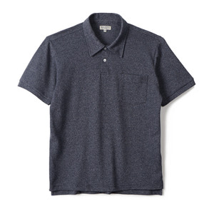 "BANTS GTB Cotton Pique Polo Shirt Half ""Navy"""