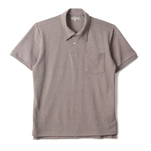 "BANTS GTB Cotton Pique Polo Shirt Half ""Light Brown"""