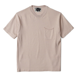"OOPARTS OPT18SSTP04IV Patch Pocket Short Sleeve Sweater ""Ivory"""