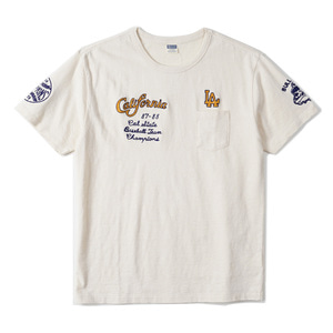 "CHESWICK Bulldogs Chian Stitched S/S T-Shirt ""Natural"""