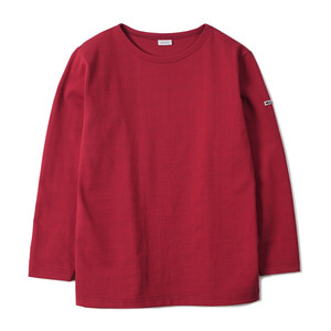 "NOCLAIM Boat-neck Basque Shirt ""Red"""