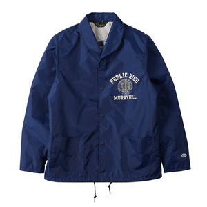 "CHAMPION Rochester Nylon Shawl Collar Jacket C3-F601 ""Navy (370)"""