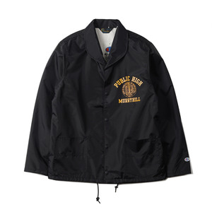 "CHAMPION Rochester Nylon Shawl Collar Jacket C3-F601 ""Black (090)"""