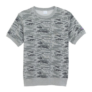 "CHAMPION Campus Short Sleeve Sweat C3-H324 ""Grey(070)"""