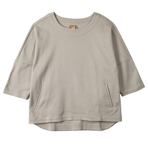 "OOPARTS OPT16SSTS05 Drop Sleeve T-Shirts ""Beige"""