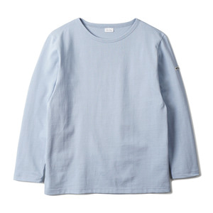"NOCLAIM Boat-neck Basque Shirt ""Sky"""