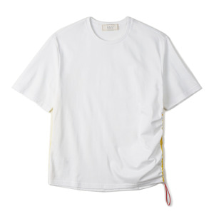 "SHIRTER Side Line String T-shirt ""White"""