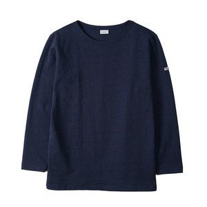 "NOCLAIM Boat-neck Basque Shirt ""Navy"""