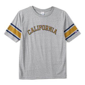 "CHAMPION Campus Football T-Shirts C3-F351 ""Grey (060)"""