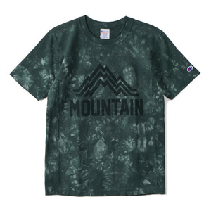 "CHAMPION Reverse Weave Dyeing T-Shirts C3-F306 ""Green (560)"""
