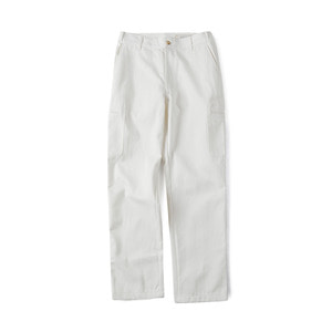 "SHIRTER Cotton Tool Pants ""White Denim"""