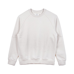 "SHIRTER Oversize Crew-Neck Sweat Shirt ""Ivory"""