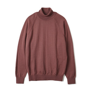 "BANTS BTS Merino Wool Raglan Turtleneck Knit ""Rosybrown"""