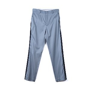 "OOPARTS OPT18FWPT03BL Side Zip-up Pants ""Blue"""