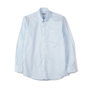 "BANTS BTS Solid Oxford Tab Collar Shirt ""Skyblue"""