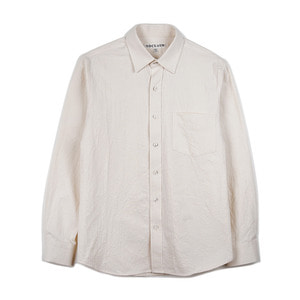 "NOCLAIM Standard fit Oxford Shirts ""Natural"""