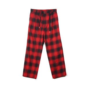 "GAKURO Wide Pants ""Red Ombre Check"""