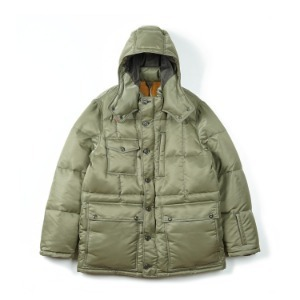 "BURGUS PLUS《ZANTER》Down Jacket ""Olive"""