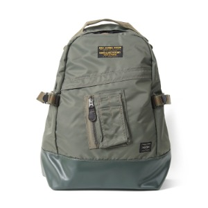"BUZZ RICKSON'S x PORTER Heavy Nylon Twill Day Pack ""Sage"""