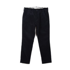 "BURGUS PLUS Original Wide Wale Corduroy Trouser ""Navy"""
